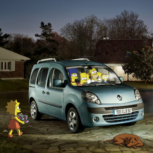RENAULT SIMPSONS