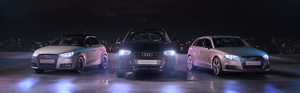 AUDI MIDNIGHT SERIES